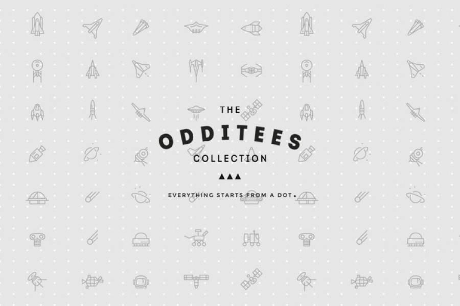 The Odditees Collection by The Vintees