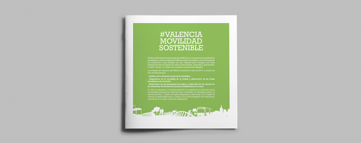 PMUS Plan de Movilidad Sostenible de Valencia Web