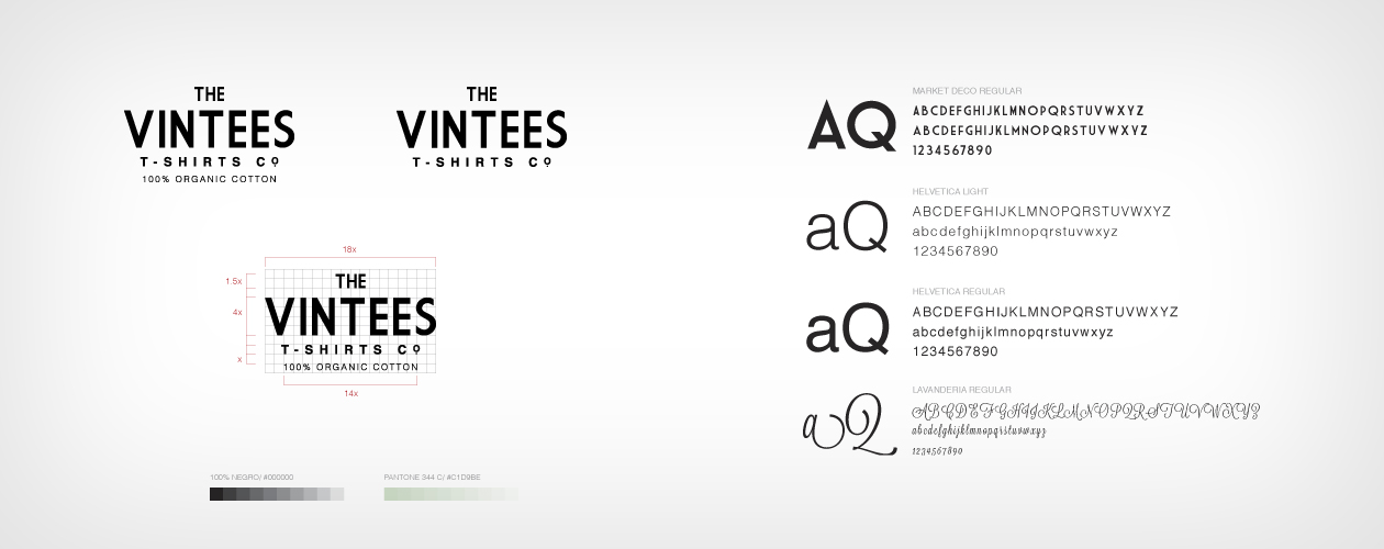 The Vintees T-Shirts Co. Logotipo