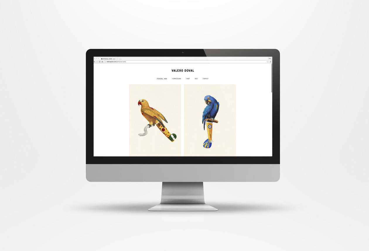ValeroDoval Illustration Web iMac